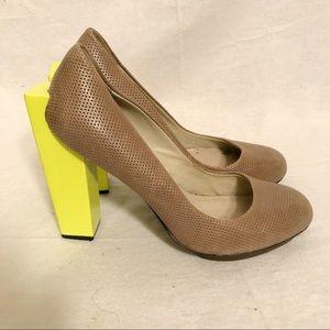 United Nude unique lime green grey block heels 39